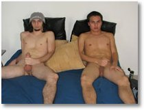 Boys paid to stroke each others cocks2