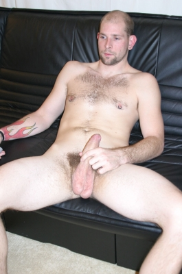 Hot Guy Solo On The Sofa